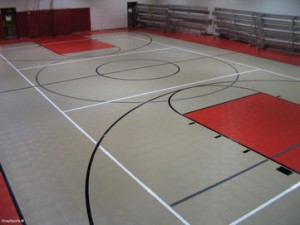 SnapSports Commercial Sports Hall Surfacing