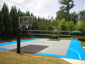 SnapSports Residential Sports Surfacing