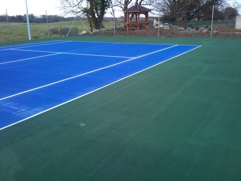 Sports court painting for your school or club fitness for Sport court paint