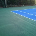 Tennis Court Painting
