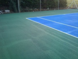 Tennis Court Painting, Galway.