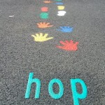 Playground Markings hop