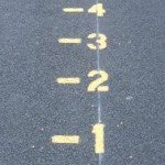 Playground Markings numbered