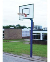 National School Basketball Goal