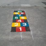 Playground Markings @ Scoil Naomh Iosaf, Newcastle West, Co. Limerick