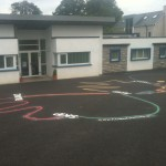 Playground Markings Activity Trail