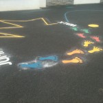 Playground Markings Activity Trail 2