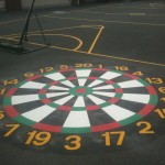 Playground Markings Dartboard