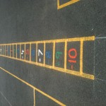 Playground Markings Numbered Ladder