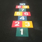School Playground Markings in Dublin, Limerick, Kildare, Wicklow & Monaghan. Thermoplastic & Paint Playground Markings.