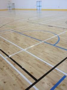 galway school sports line marking3