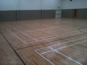 tipperary school sports line marking