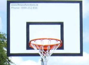 Basketball Fully Marked Backboard 4x3ft (1200x900mm) Dept. of Education Specifications.