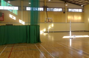 Sports Hall Divider Netting