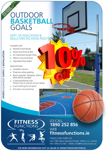 Basketball Posts 4 week offer.