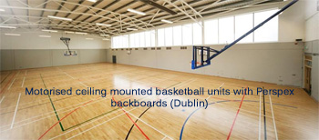 Ceiling Mtd Basketball