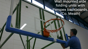 Main basketball with Perspex