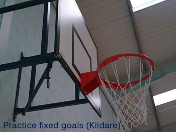 Practice fixed basketball