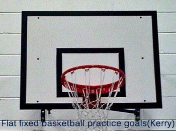 Practice flat fixed basketball