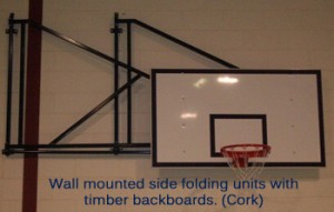 Wall Mtd Side Folding with timber 1